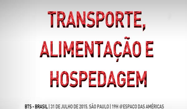 BTS no Brasil: dicas de transporte, hospedagem e alimentação