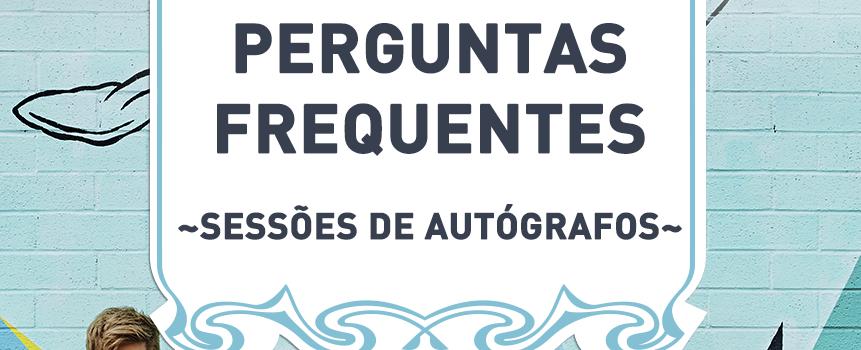 Perguntas Frequentes: sessões de autógrafos do KARD