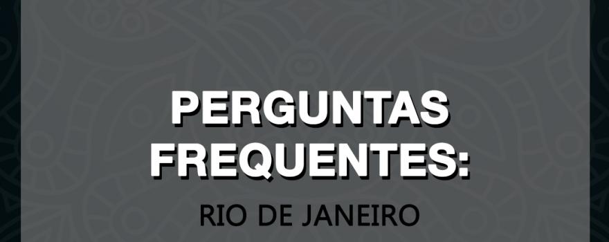 Perguntas frequentes: 2019 WILD KARD TOUR IN RIO DE JANEIRO