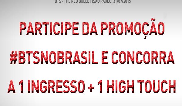 BTS no Brasil: concorra a 1 ingresso para o show + high touch