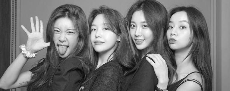 Girls' Day se reúne em sessão de fotos para comemorar dez anos de carreira