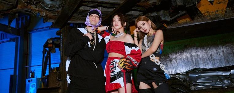 Hyoyeon, do Girls' Generation, divulga prévia de clipe com Soyeon, do (G)I-DLE, e Loopy