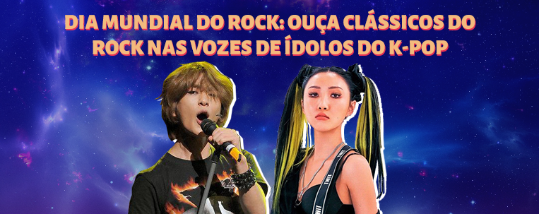 Dia mundial do rock: ouça clássicos do rock nas vozes de ídolos do k-pop