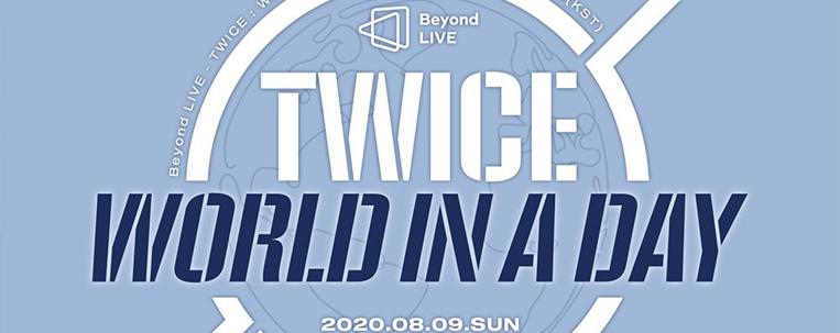 """TWICE fará live em agosto: """"turnê mundial em um único dia"""""""