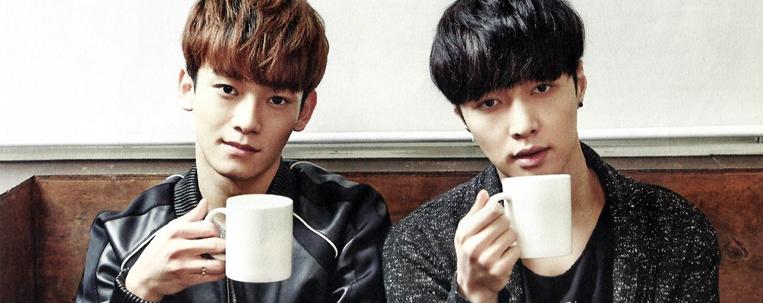 Chen, Lay e outros integrantes do EXO comemoram aniversário de fã-clube do grupo