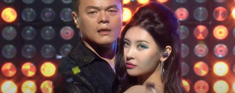 """J.Y. Park e Sunmi relembram tempos do Wonder Girls em primeira apresentação de """"When We Disco"""""""