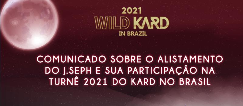 J.Seph, do KARD, anuncia data de alistamento militar e não poderá participar de turnê no Brasil