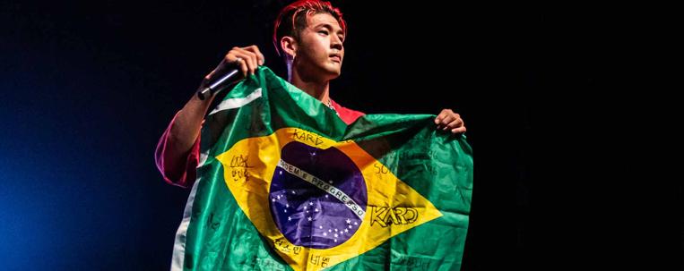 Brasil é um dos países que mais comenta sobre k-pop no Twitter