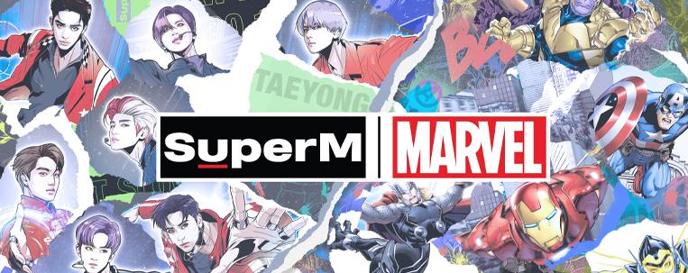 SuperM lança clipe e anuncia parceria com a Marvel