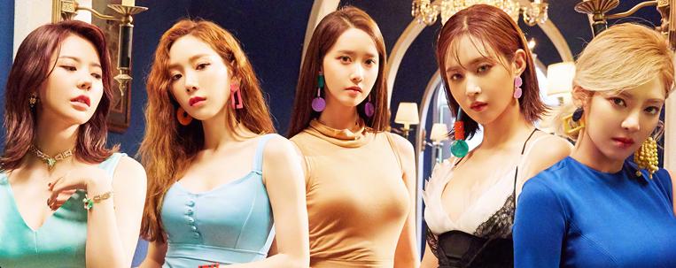 Girls' Generation: YoonA, Taeyeon, Yuri, Sunny e Hyoyeon renovam contrato com a SM Entertainment