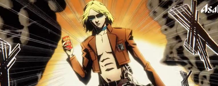 "Lenda do rock japonês, Yoshiki virá titã de ""Shingeki No Kyojin"" em comercial"