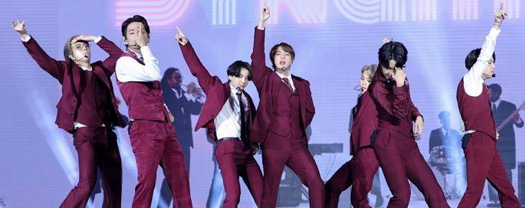 BTS recebe prêmio no Billboard Music Awards pelo quarto ano seguido
