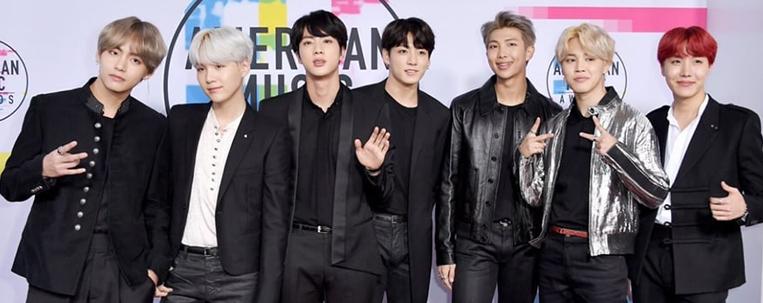 BTS, EXO e NCT 127 estão entre os indicados ao American Music Awards
