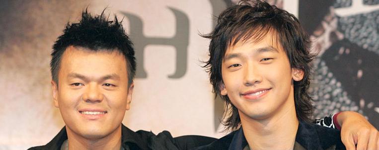J.Y. Park é o parceiro misterioso de Rain em nova dupla