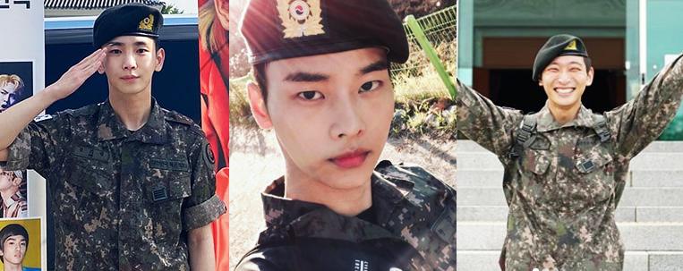 Key (SHINee), N (VIXX) e Jinwoon (2AM) estão oficialmente liberados do serviço militar