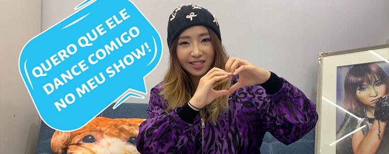 #DançaComigoMinzy: Minzy, ex-2NE1, reage a vídeos de coreografias brasileiras