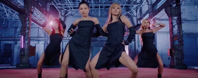 "Refund Sisters: Hyori, Jessi, Hwasa e Junghwa esbanjam beleza no clipe de ""Don't Touch Me"""