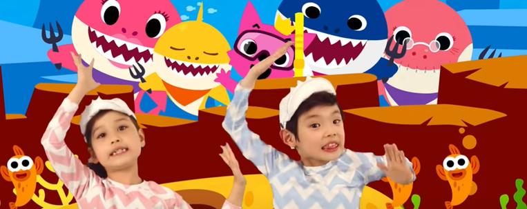 """""""Baby Shark"""" supera """"Despacito"""" como vídeo mais assistido no YouTube"""