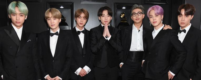"""BTS é indicado ao Grammy 2021 com """"Dynamite"""""""