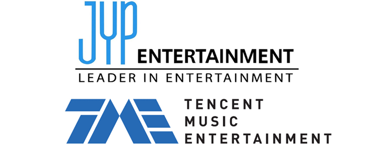 JYP Entertainment e Tencent Music anunciam parceria