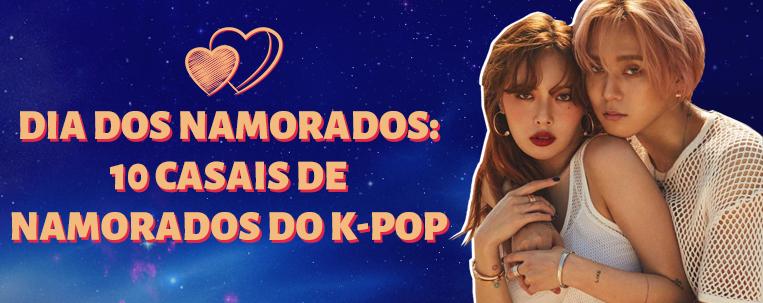 Dia dos Namorados: 10 casais de namorados do k-pop