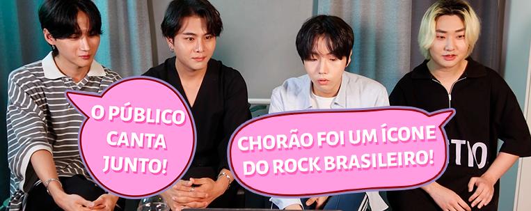 Banda coreana D.COY reage a rock brasileiro em vídeo; vem ver