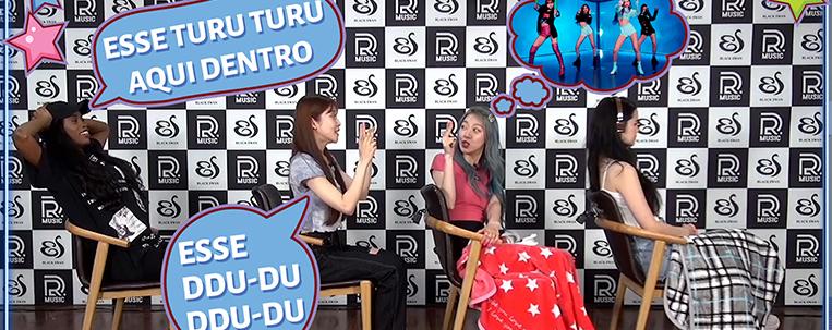 Grupo de k-pop Black Swan brinca de telefone sem fio com músicas brasileiras; veja o vídeo