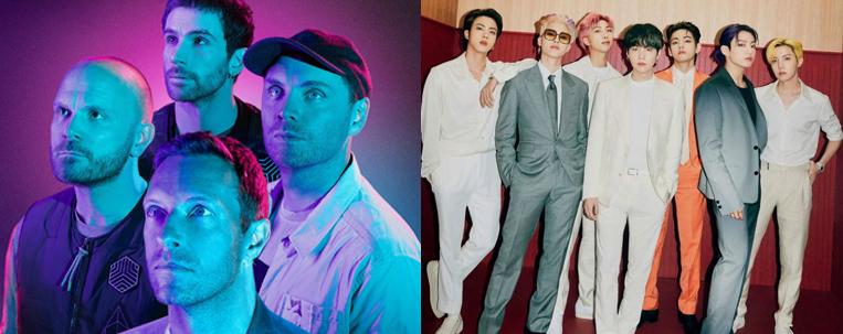 Coldplay anuncia lançamento de single em parceria com BTS
